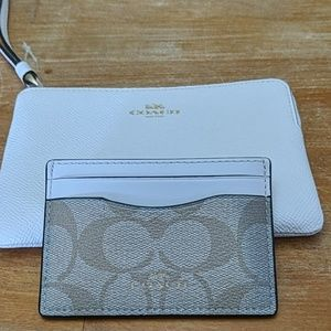 Coach Wristlet and CardHolder